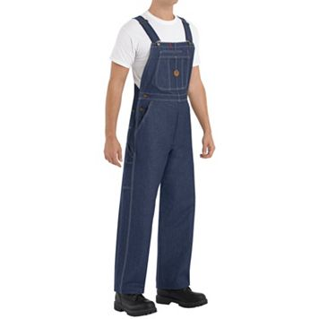 Men's Classic-Fit Denim Bib Overalls