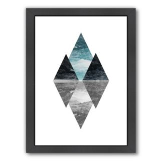 Americanflat Geometric Art 7 Framed Wall Art