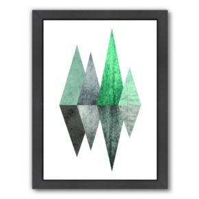 Americanflat Geometric Art 8 Framed Wall Art