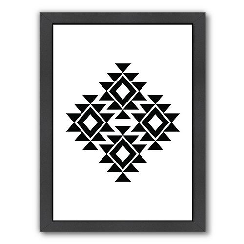 Americanflat Geometric Art 11 Framed Wall Art