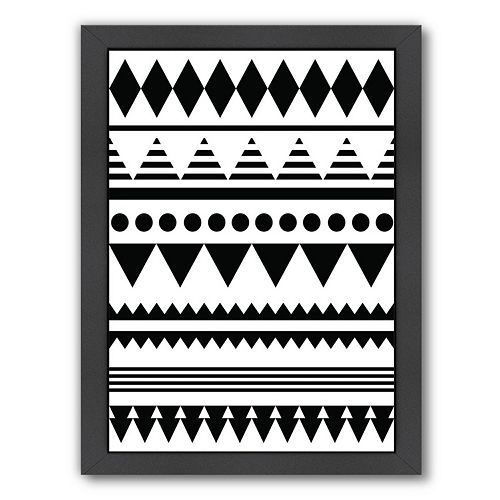 Americanflat Geometric Art 12 Framed Wall Art