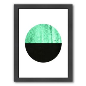 Americanflat Geometric Art 14 Framed Wall Art