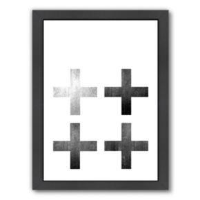 Americanflat Geometric Art 18 Framed Wall Art
