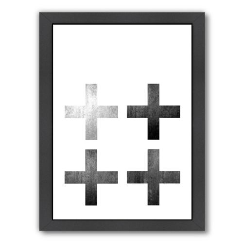 Americanflat Geometric Art 18 Framed Wall Art