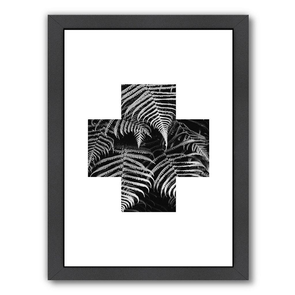 Americanflat Geometric Art 19 Framed Wall Art