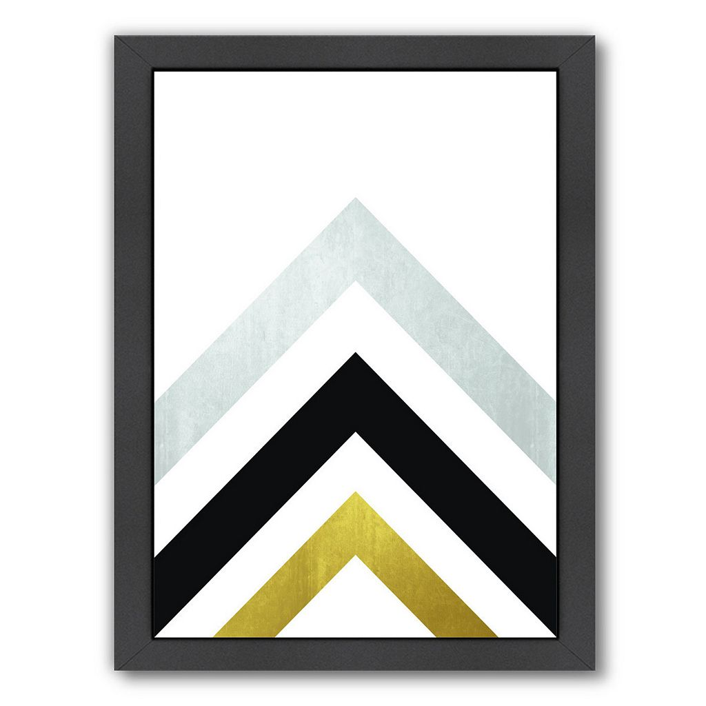 Americanflat Geometric Art 20 Framed Wall Art