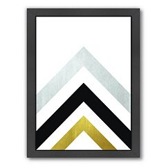 Americanflat Geometric Art 20 Framed Wall Art