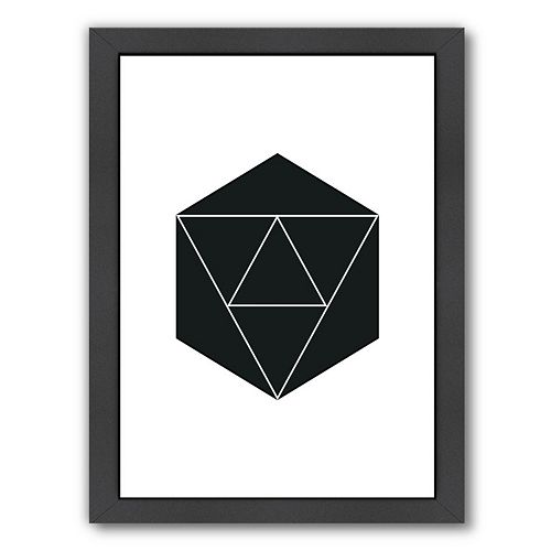 Americanflat Geometric Art 21 Framed Wall Art