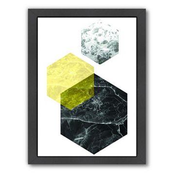 Americanflat Geometric Art 22 Framed Wall Art