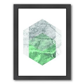 Americanflat Geometric Art 23 Framed Wall Art