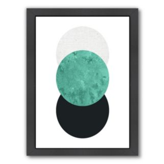 Americanflat Geometric Art 24 Framed Wall Art