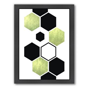 Americanflat Geometric Art 25 Framed Wall Art