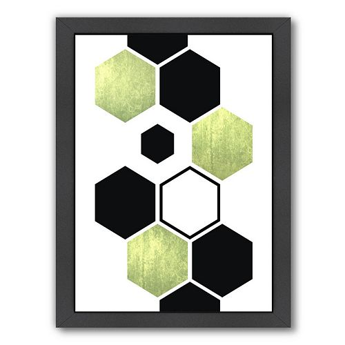 Americanflat Geometric Art 25 Framed Wall Art