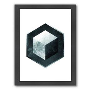 Americanflat Geometric Art 26 Framed Wall Art