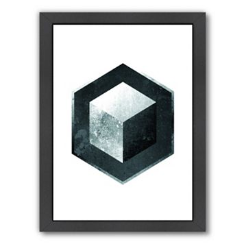 Americanflat Geometric Art 26 Framed Wall Art
