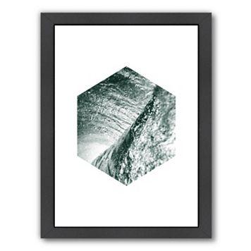 Americanflat Geometric Art 27 Framed Wall Art