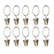 Umbra 10-pack Clip Curtain Rings
