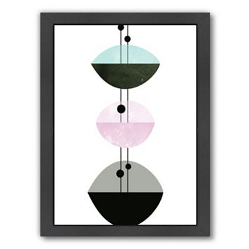 Americanflat Geometric Art 29 Framed Wall Art