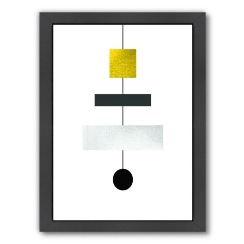 Americanflat Geometric Art 30 Framed Wall Art