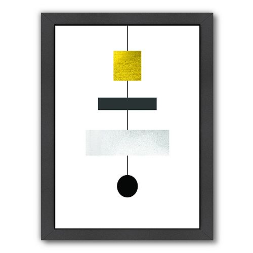Americanflat Geometric Art 30 Framed Wall Art