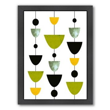Americanflat Geometric Art 31 Framed Wall Art