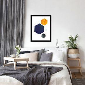 Americanflat Geometric Art 35 Framed Wall Art