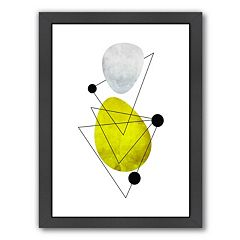 Americanflat Geometric Art 36 Framed Wall Art