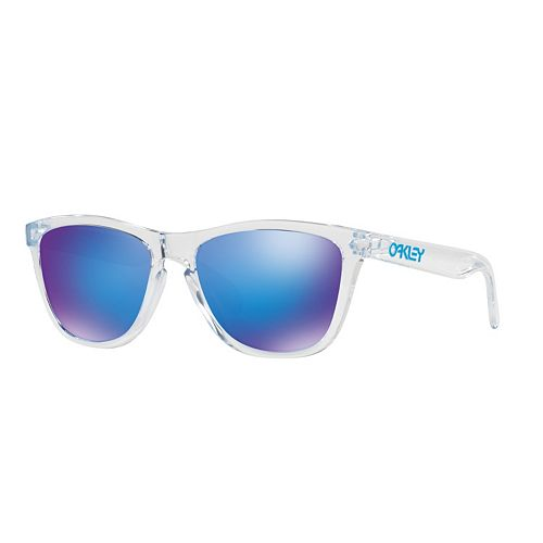 Oakley Frogskins OO9013 55mm Square Violet Iridium Sunglasses