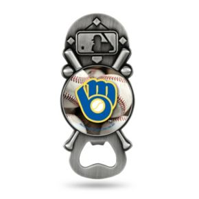 Milwaukee Brewers Party Starter Bottle Opener Magnet