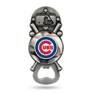 Chicago Cubs Party Starter Bottle Opener Magnet