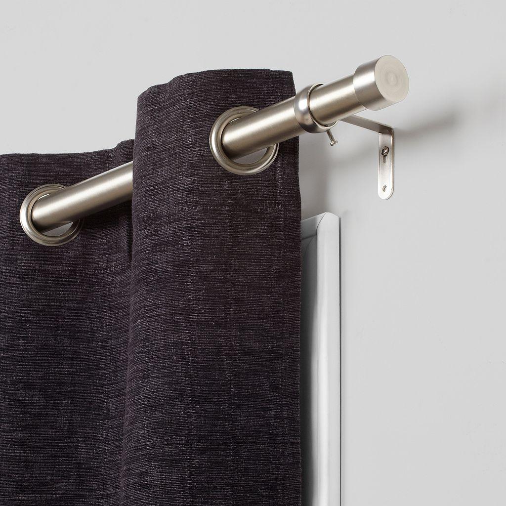 Umbra Cappa Adjustable Nickel Finish Curtain Rod