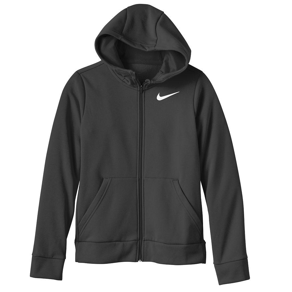 Girls 7-16 Nike Therma Fleece-Lined Training Hoodie