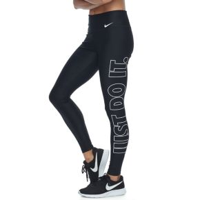 "Women's Nike Power Training ""Just Do It"" Graphic Tights"