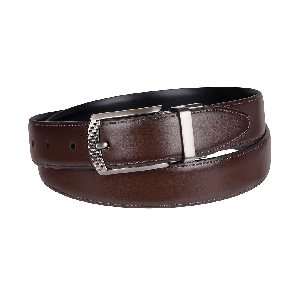 Men's Croft & Barrow® Reversible Feather Edge Dress Belt