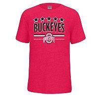 Boys 8-20 Ohio State Buckeyes Staple Tee