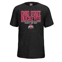 Boys 8-20 Ohio State Buckeyes Heathered Staple Tee