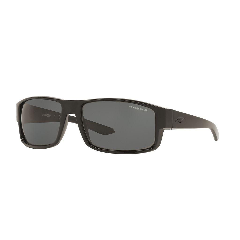 Arnette Boxcar AN4224 59mm Rectangle Polarized Sunglasses