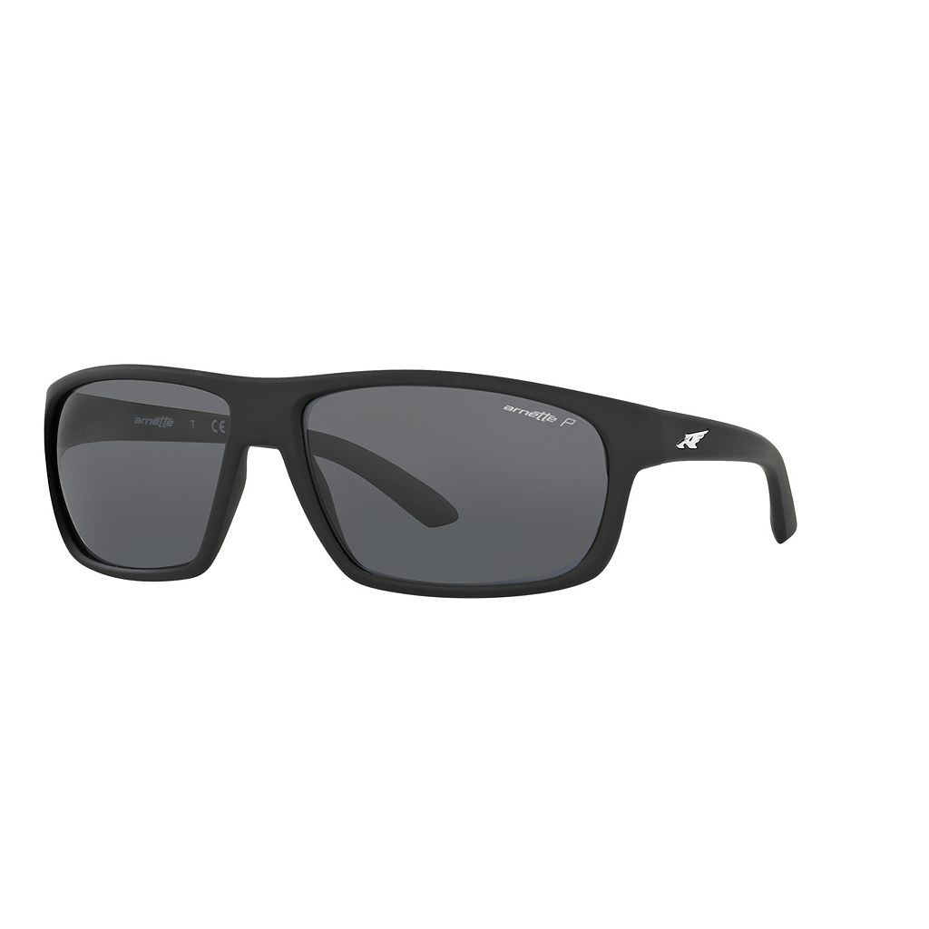 Arnette Burnout AN4225 64mm Rectangle Polarized Sunglasses