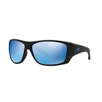 Arnette Shylock AN4215 66mm Rectangle Mirror Sunglasses