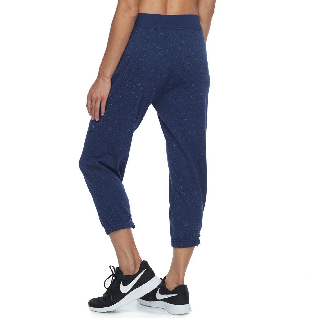 Women's Nike Speckled Fleece Capris