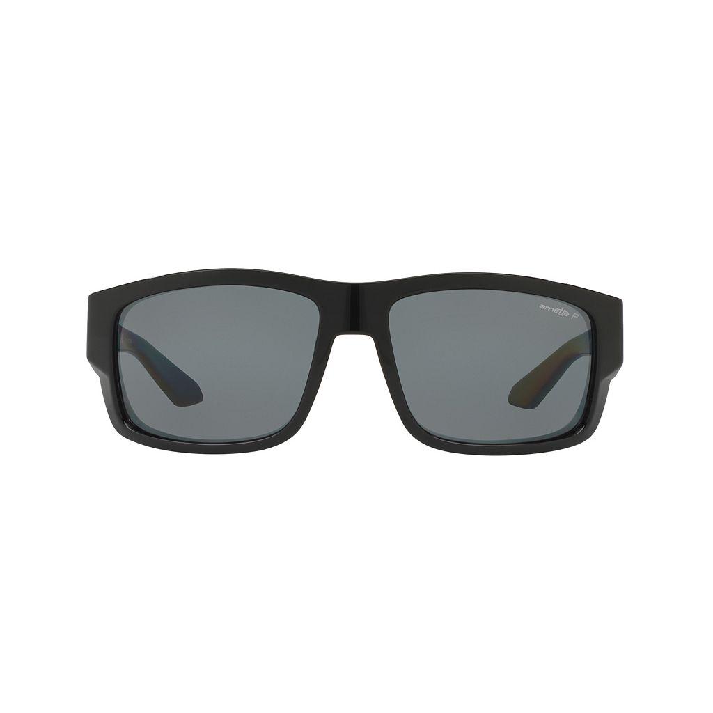 Arnette Grifter AN4221 62mm Rectangle Polarized Sunglasses