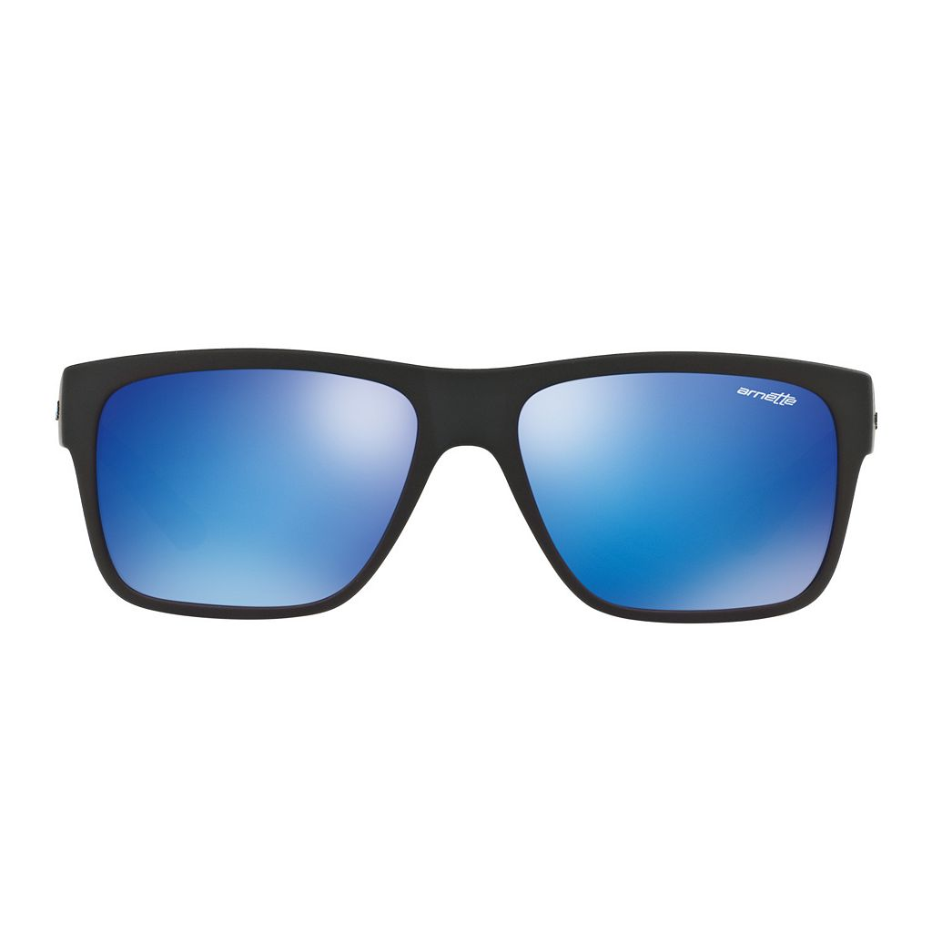 Arnette Reserve AN4226 57mm Rectangle Mirror Sunglasses