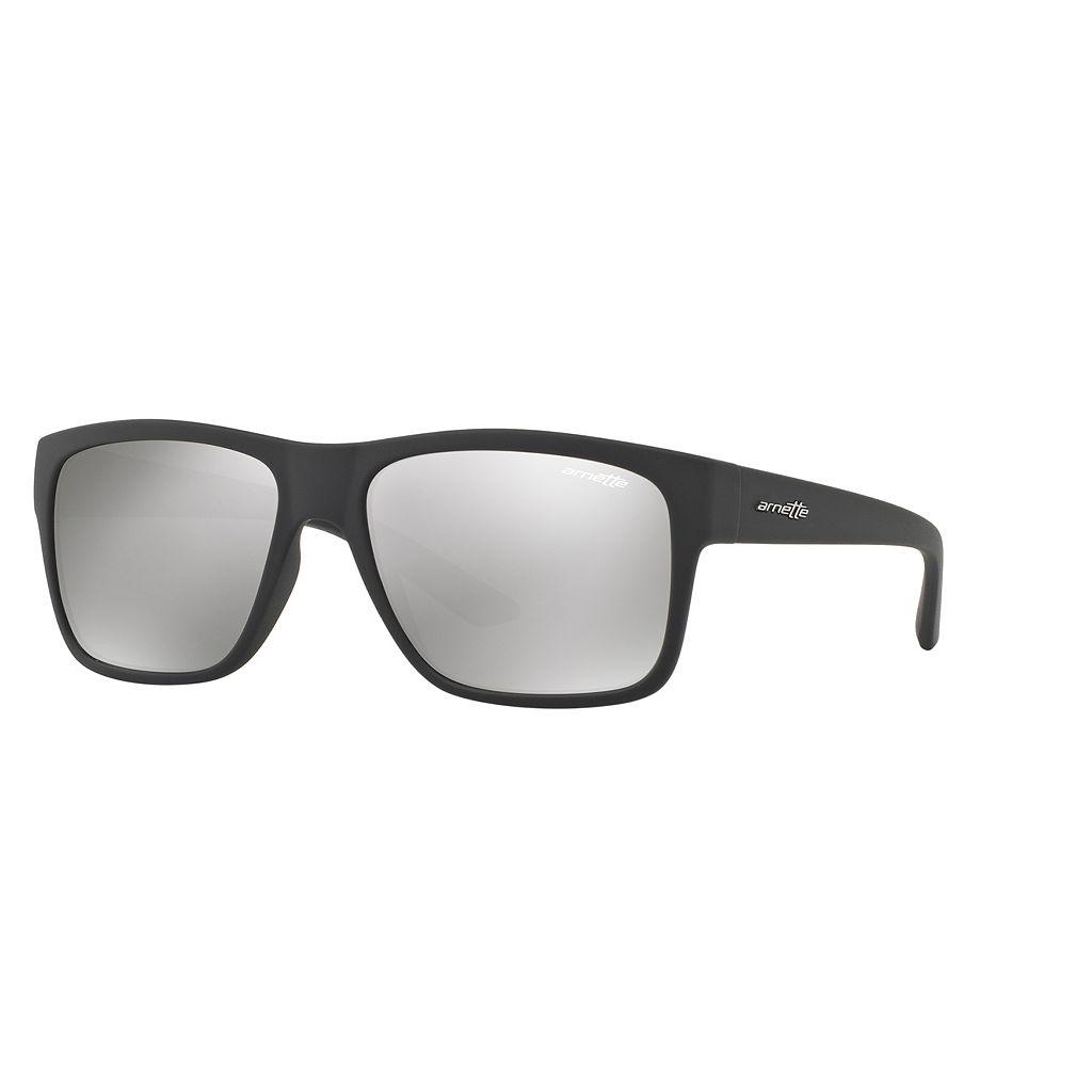 Arnette Reserve AN4226 57mm Rectangle Mirror Sunglasses