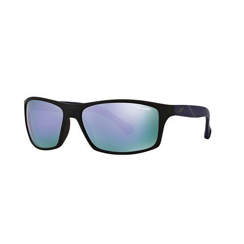Arnette Boiler AN4207 61mm Rectangle Mirror Sunglasses