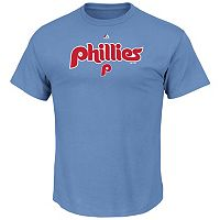Big & Tall Majestic Philadelphia Phillies Cooperstown Logo Tee
