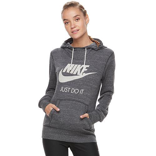 f5c942025a71 Women s Nike Sportswear Gym Vintage Long Sleeve Graphic Hoodie