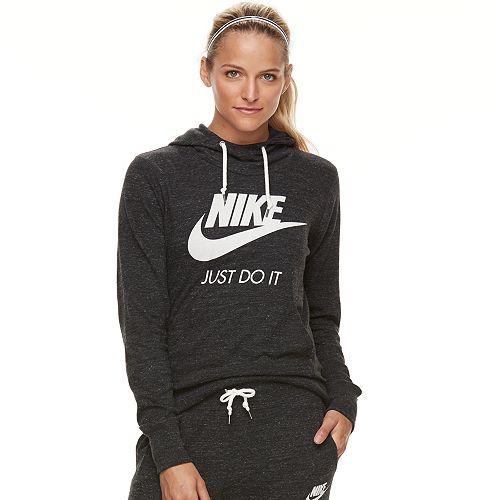 Women's Nike Sportswear Gym Vintage Long Sleeve Graphic Hoodie