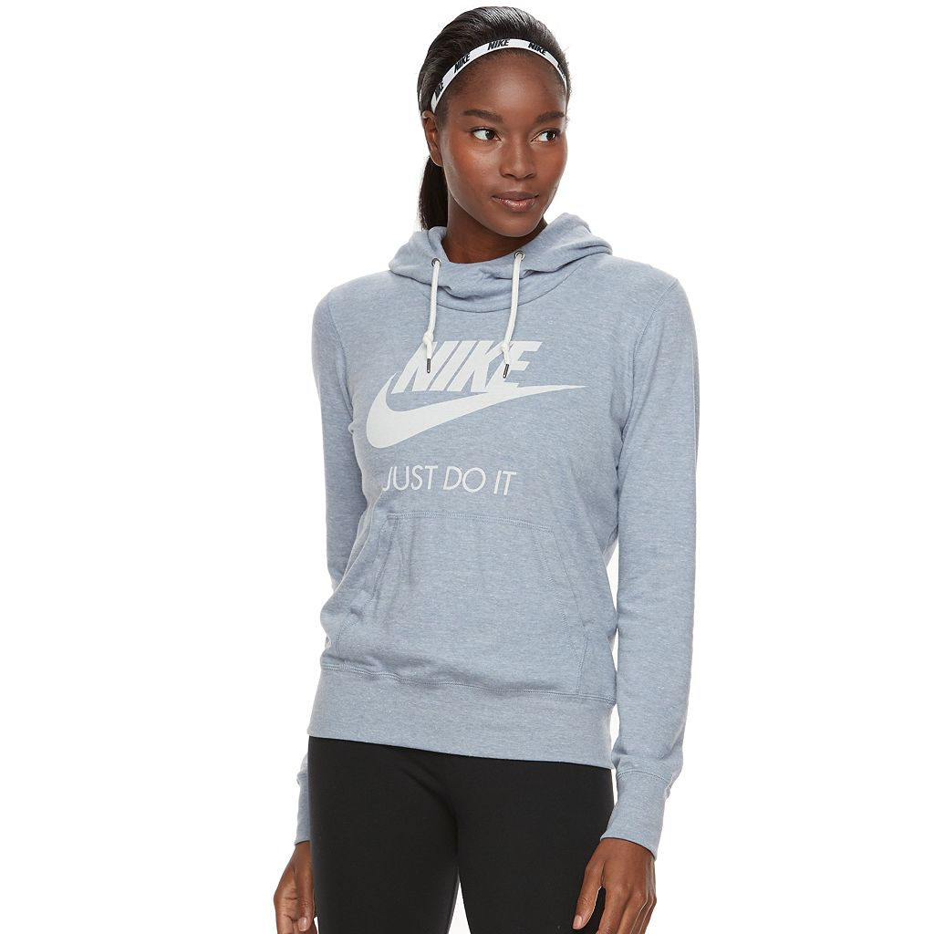 Women's Nike Sportswear Gym Vintage Long Sleeve Graphic Hoodie