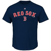 Big & Tall Majestic Boston Red Sox Cooperstown Logo Tee