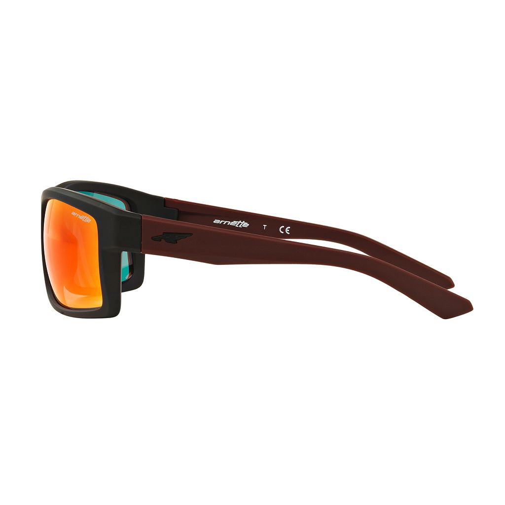 Arnette Corner Man AN4216 61mm Rectangle Mirror Sunglasses